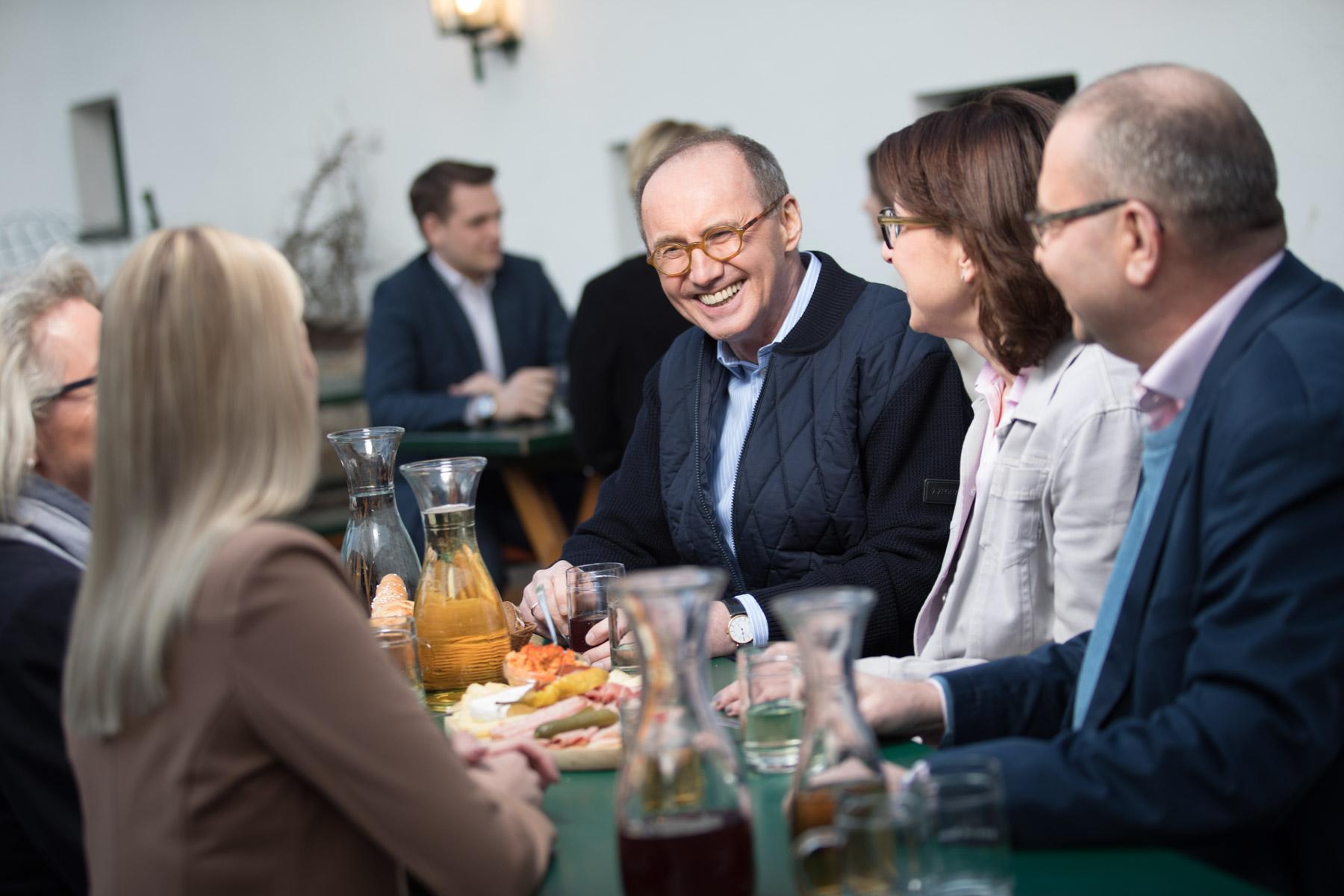 OK im Gespräch mit Bürgern (c) Jakob Glaser