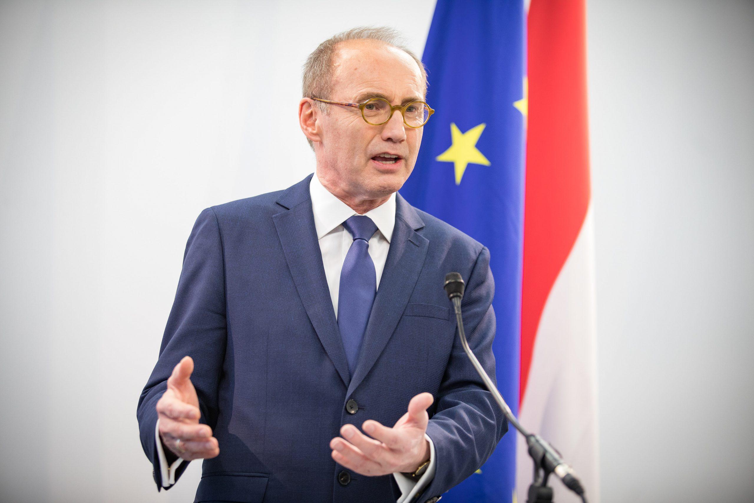 OK vor EU_Ö Flagge (c) Jakob Glaser