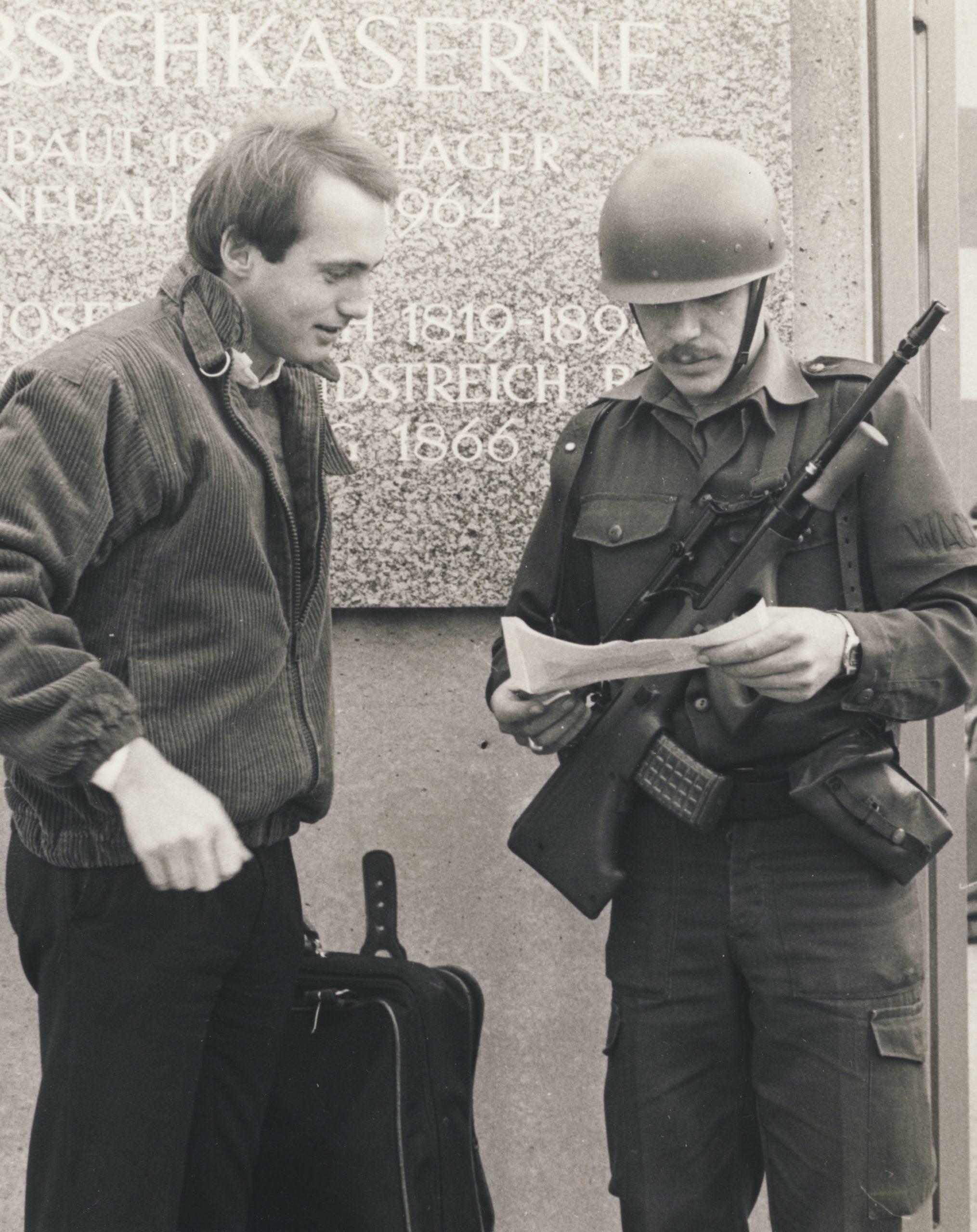 1984-10 Dienstantritt in der Dabsch-Kaserne Kopie