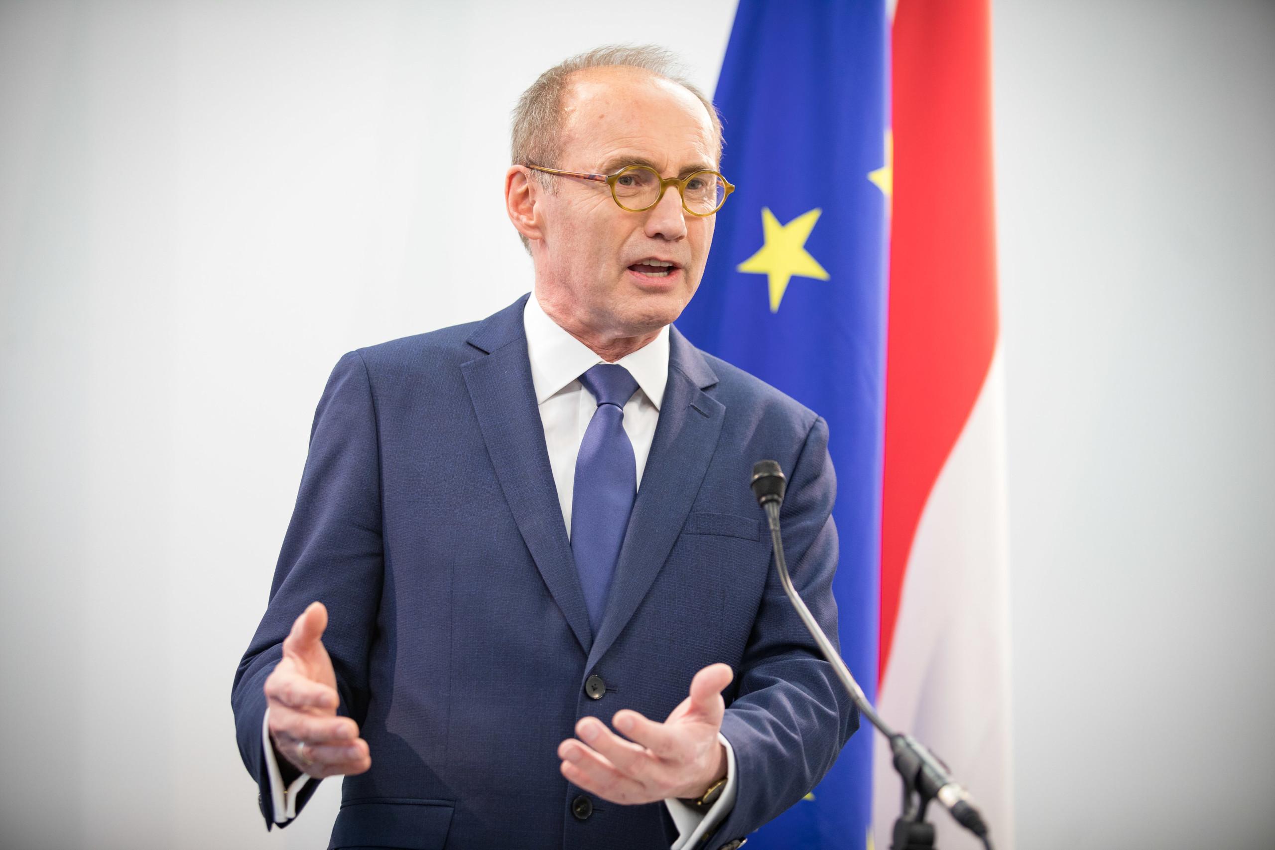 OK vor EU:Ö Flagge (c) Jakob Glaser