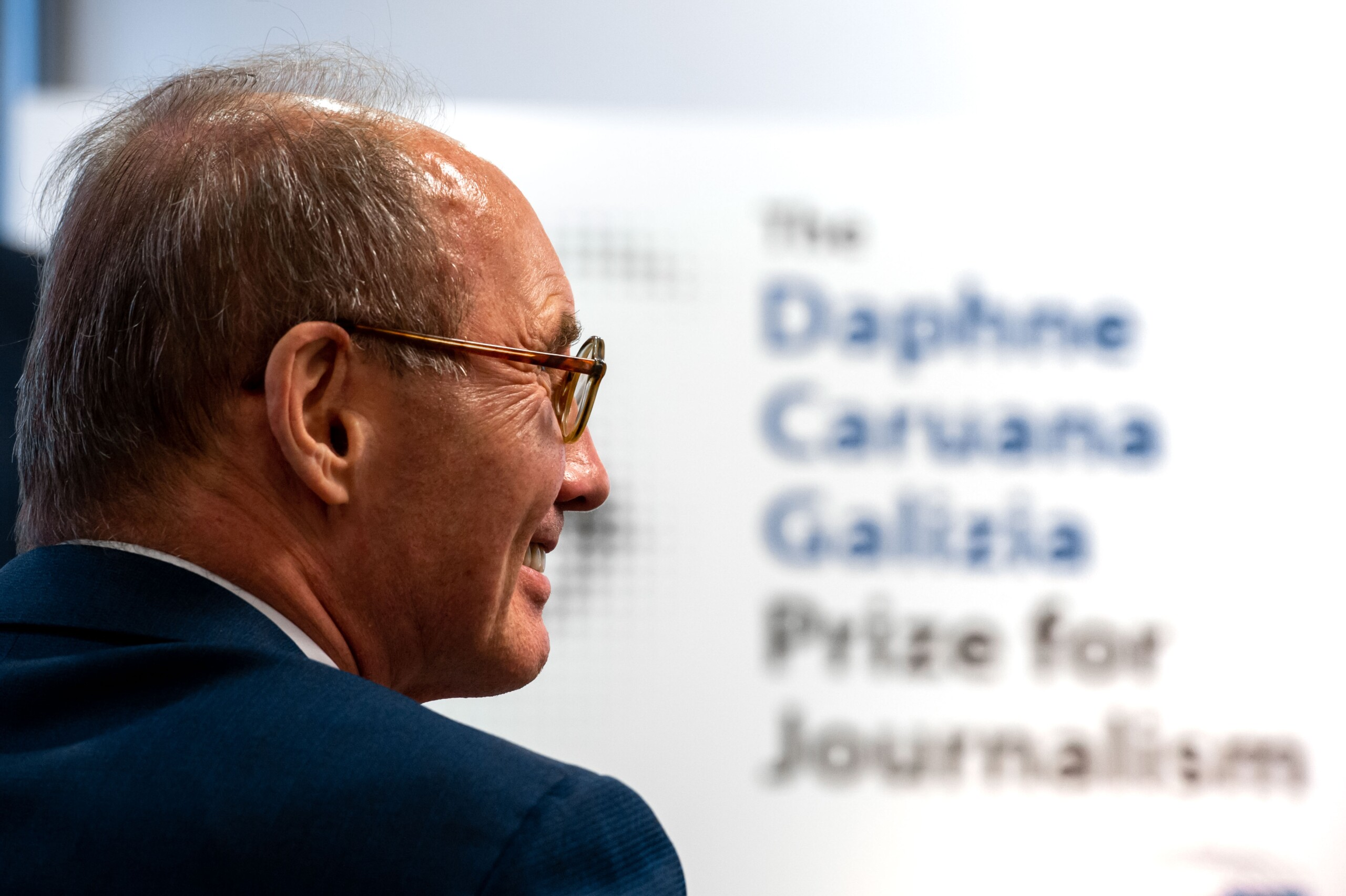 Press Conference of Daphne Caruana Galizia Prize for Journalism
